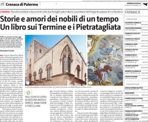 Palazzo Alliata Pietragliata - Giornale di Sicilia