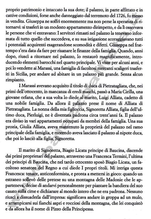 Simonetta Agnello Hornby pg.2 - Palazzo Alliatta di Pietratagliata