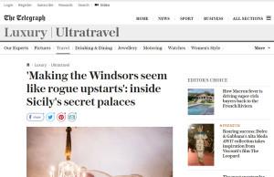 articolo the telegraph